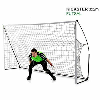 QUICKPLAY Kickster 3m x 2m Portable Goal - Comes with Carry Bag - 90 sec. Setup