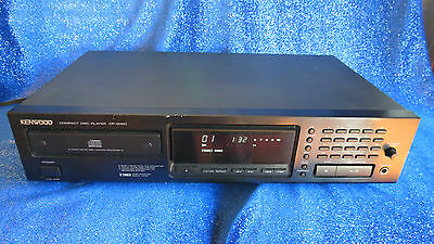 Kenwood DP-2020 Single CD Compact Disc Player - TESTED and WORKING - JAPAN