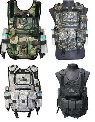GXG Deluxe Paintball Vest- Free Shipping!