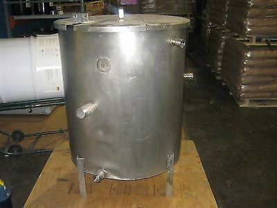 100 Gallon Stainless Steel Tank