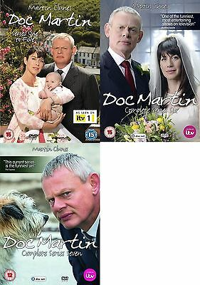 Doc Martin Series 1 2 3 4 5 6 7 Dvd Complete Collection All Episodes New UK Rel