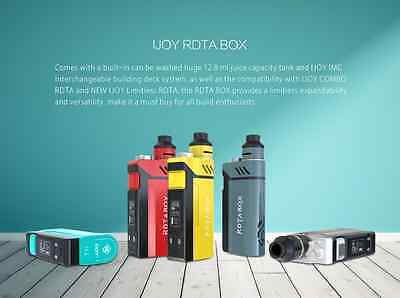 IJOY RDTA BOX ALL IN ONE 200W con 2 batterie 18650