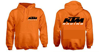 KTM SX F 50 65 125 250 350 450 Motocross Orange Hoodie Kids & Adult