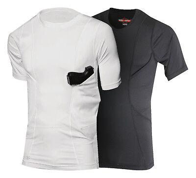 NEW Tru-Spec 24-7 Series Concealed Holster Shirt Short Sleeve ALL COLORS / SIZES