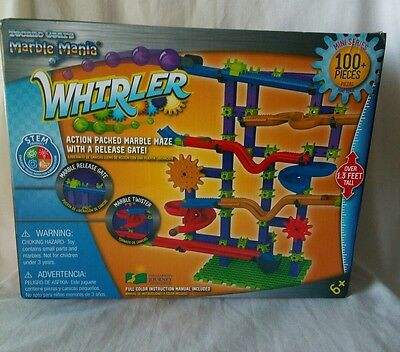 The Learning Journey Techno Gears Marble Mania, Whirler 100+ pcs Ages 6+
