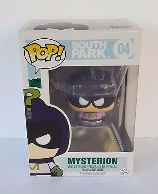 Funko Pop! Mysterion Vinyl Figure South Park #04 Comedy Central - New in Box