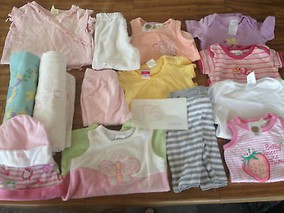 baby girls clothes size 000 bulk lot