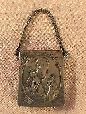 Ottoman Amulet 1800s Circa Silver Antique Unique And Rare