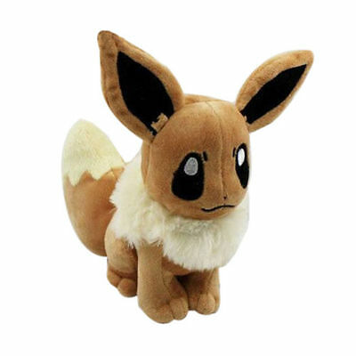 Hot 20cm Pokemon Pocket Monster Eevee Soft Plush Toy Stuffed Doll Xmas Gift