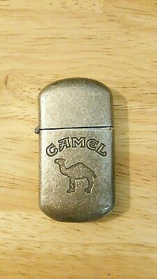 Camel Cigarette Lighter Bronze Color