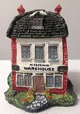 Department 56 Dickens' Village Miniatures, M Fezziwig Warehouse, 1986