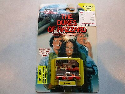 Dukes of Hazzard Racing Champions Dodge Charger General Lee 1/144 Scale