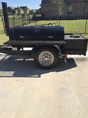 Custom BBQ Trailer Smoker