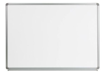4' W x 3' H Large Magnetic Marker Dry Erase White Board For Students Or Pros