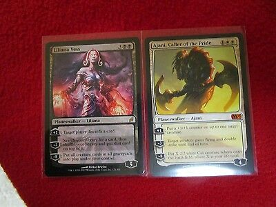 Liliana Vess & Ajani Caller of the Pride + 20 random rares MTG magic wholesale