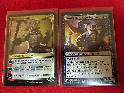 Sheoldred, Whispering One & Ajani Vengeant foils + 20 random rares MTG magic lot