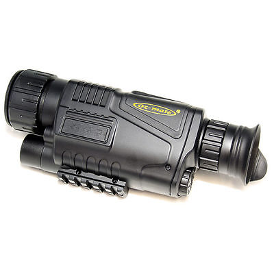 Digital Night Vision Monocular 5 x 40 Zoom Scope Sport Optics DV NV0540