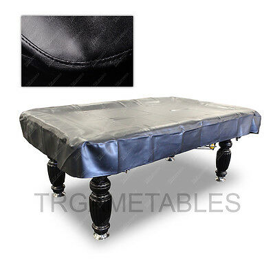 Black Quality Heavy Duty Vinyl Cover for 7FT / 8FT / 9FT Pool Table Billiards AU