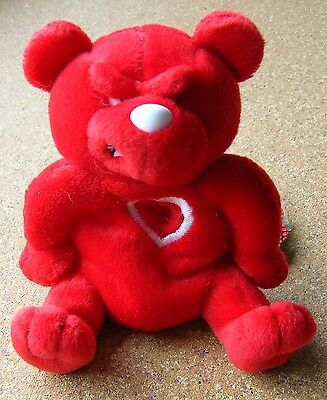 "Meanies Valentines Series ""Red Heartless Bear"" Limited Edition #2852/7500 NWT"