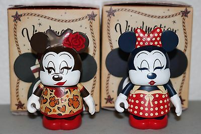 Vinylmation Eachez 2017 Minnie Mouse LE 250 VARIANT CHASER with Common