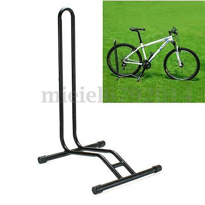 Bike Bicycle Floor Storage Rack Stand Steel Frame Garage Repair Parking Cycling