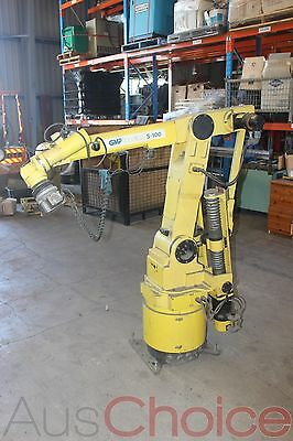 GMF Robotics F-5064 S-100 Series 6 Axis Paint Robot - A05B-1021-B6010