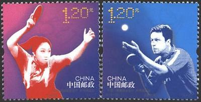 Mint stamps Sport Table Tennis 2013  from China