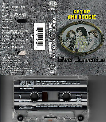 SILVER CONVENTION - Get up and Boogie ★ MC Musikkassette Cassette