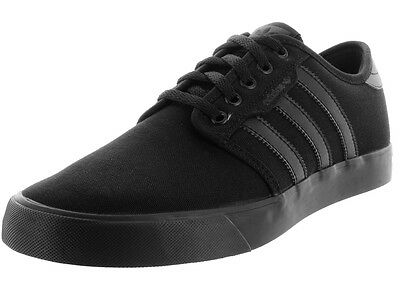 Adidas Men's Seeley Black/Black/Black Skate Shoe 9 Men Us