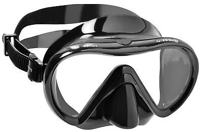 Mares VENTO Single Lens Wide View Diving / Snorkelling MASK + BLACK