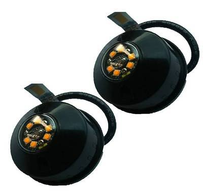 PAIR OF 6LED Flashing HIDE AWAY LIGHTS 12/24v