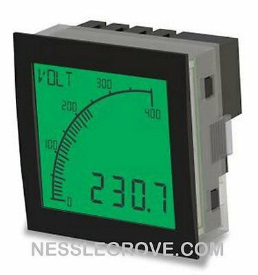 Trumeter APM-VOLT-APO 72 x 72 Voltmeter Positive LCD with Relay