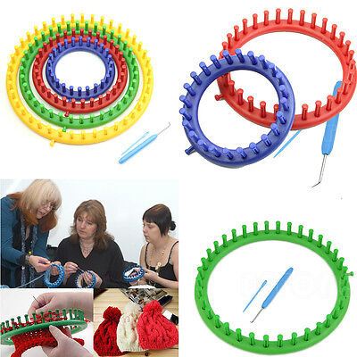 Round Circle Hat Classical Knifty Knitter Knit Knitting Loom Kit 14cm 19cm 24cm