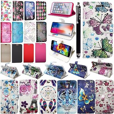 For SAMSUNG GALAXY J3 2016 -Wallet Leather Case Flip Stand Cover + Stylus