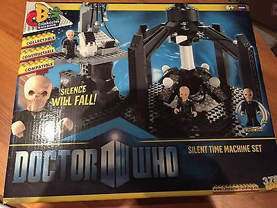 Doctor Who Silent Silence Time Machine Set NEW RARE