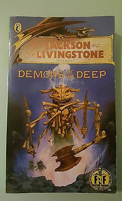 Demons of the Deep Jackson Livingstone Puffin Role Playing Fighting Fantasy #19