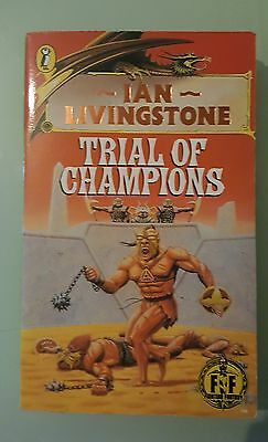 Trial of Champions Ian Livingstone Puffin Role Playing Game Fighting Fantasy #21