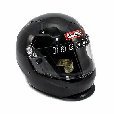 RaceQuip 273005 PRO 15 Helmet SA2015 Approved Large Gloss Black