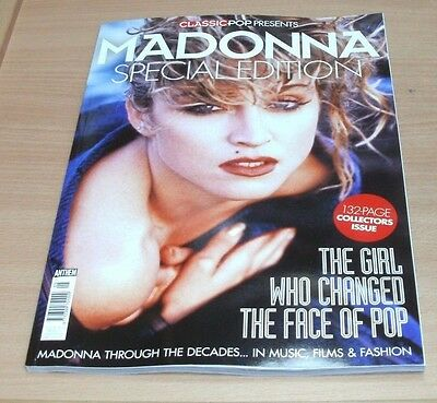Classic Pop magazine presents Madonna Special Collectors Edition 132-pages