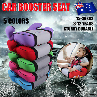 Safe Sturdy Car Booster Seat Fit 3-12 Yrs & ECE Cer Traveling Baby Children Kids