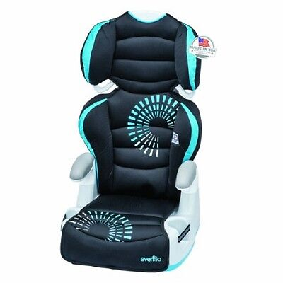 Baby Car Seat Big Kid Adjustable 6 Position  Back Booster 2 Cup Holders