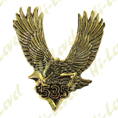 Hi Level Gold Eagle Emblem Yamaha Xv535 Self Adhesive 58Mm W X 64Mm H Bc38072 T