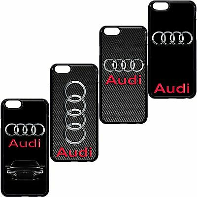 Audi Car Case Cover For Apple Iphone 4 5S 6S 7 Plus, Samsung Galaxy.