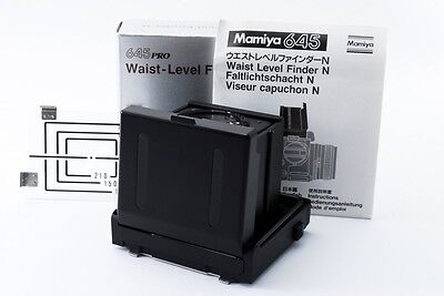 Mint Mamiya Waist Level Finder N for 645 Super,Pro,ProTL from Japan