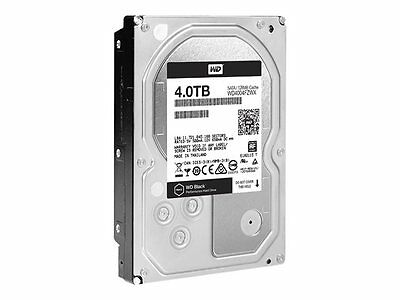 WD Black 4TB 7200RPM 128MB Cache SATA3 WD4004FZWX Internal Hard Drive Desktop