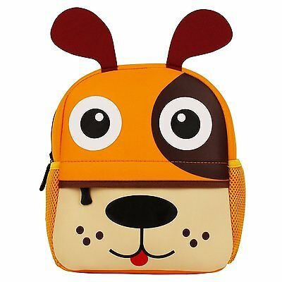 Manleno Kids Backpack Cute 3D Animal Baby Boys Girls Toddler Backpack for yellow