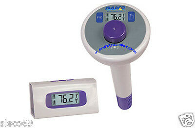 Swimming POOL digital WIRELESS floating remote thermometer, GAME long Line model