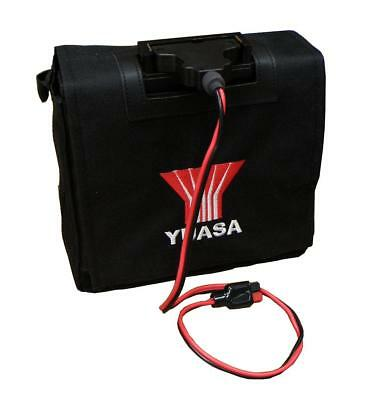 Yuasa 22Ah Golf Battery For Powerkaddy, Battery, Lead & Bag, Quick Delivery