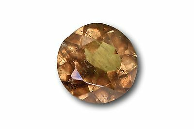 Grenat change couleur / vanadium naturel 0.70 carat, orange / vert