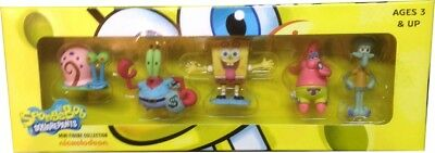 Spongebob Squarepants - Mini 5 Figure Pack - Great detail, sent fast!